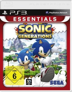 Sonic Generations - Essentials (Software Pyramide)