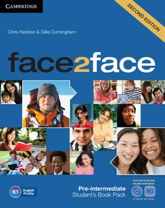 face2face. Student's Book with DVD-ROM and Online Workbook Pack.