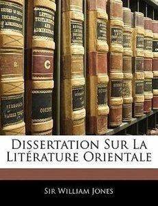 Dissertation Sur La Litérature Orientale