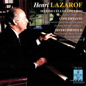 Lazarof:Divertimento/Cellokonz./+