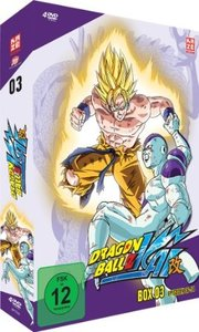 Dragonball Z Kai - DVD Box 3 (4 DVDs)