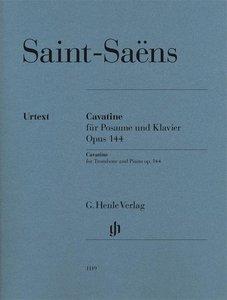 Cavatine für Posaune und Klavier Opus 144