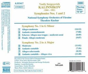 Sinfonien 1+2