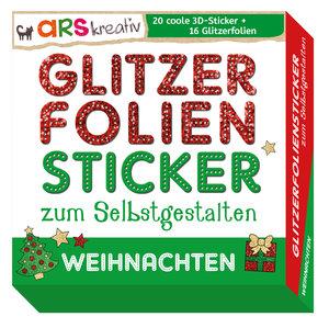 Glitzerfolien-Sticker zum Selbstgestalten - Weihnachten