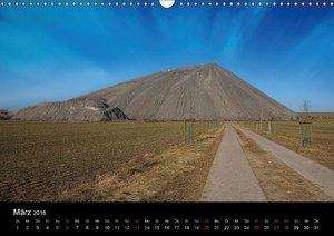 Schachtanlagen in Mansfeld Südharz (Wandkalender 2016 DIN A3 que