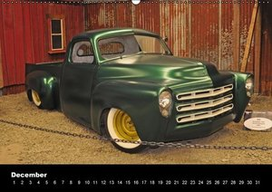 Custom-Cars Special Calendar (Wall Calendar perpetual DIN A2 Lan