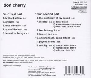 Cherry, D: Mu Part 1 & 2