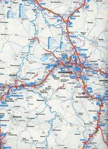 Falk Länderkarte Deutschland Autobahnen 1 : 500 000