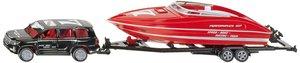 SIKU 2543 - Pkw mit Motorboot, farblich sortiert