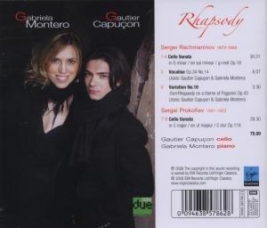 Rhapsody (Cellosonaten)