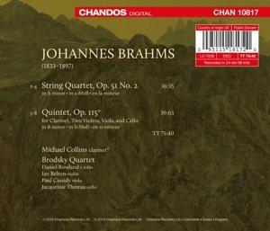 Klarinettenquintett op.115/Streichquartett op.51