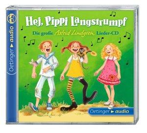 Hej, Pippi Langstrumpf! (1 CD)