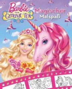 Barbie und die geheime Tür. Magischer Malspaß