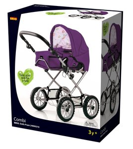 Brio 24891310 - Puppenwagen Combi, violett