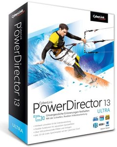 PowerDirector 13 Ultra - Die schnellste und flexibelste Videobea