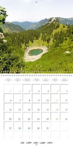 Find your own calm place: (Wall Calendar 2015 300 × 300 mm Squar