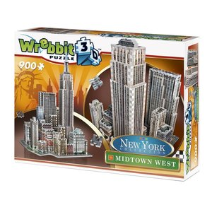 Midtown WEST - New York Collection. 3D-PUZZLE