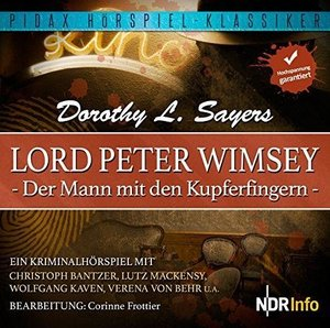 Lord Peter Wimsey: Der Mann mit den Kupferfingern