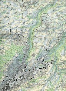 Swisstopo 1 : 25 000 St. Gallen u. Umgebung