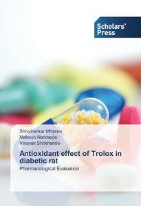 Antioxidant effect of Trolox in diabetic rat