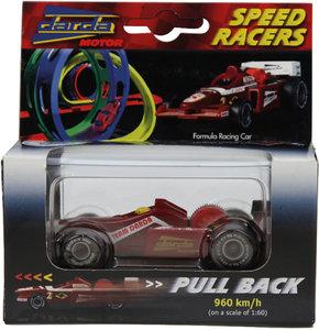 Simm 50304 - Darda: Formel 1 Rennwagen, rot