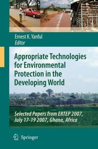 Appropriate Technologies for Environmental Protection in the Dev