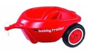 BIG 56280 - New Bobby-Car Anhänger, rot