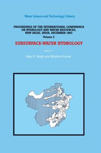 Subsurface-Water Hydrology