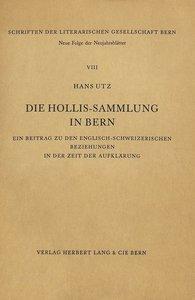 Die Hollis-Sammlung in Bern