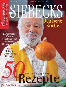 Feinschmecker Bookazines. Siebecks deutsche Küche