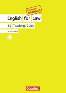 Cornelsen Campus: English for Law. Handreichungen für den Unterr