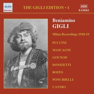 Milan Recordings 1918-19