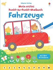 Mein erstes Punkt-zu-Punkt-Malbuch: Fahrzeuge