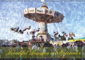Beautiful Bavaria in Watercolor / UK-Version (Wall Calendar 2015