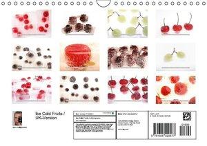 Ice Cold Fruits / UK-Version (Wall Calendar 2015 DIN A4 Landscap