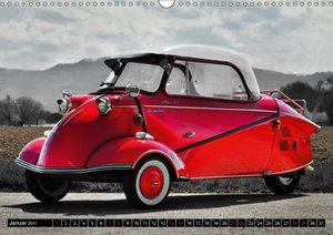 Historische Kleinwagen Made in Germany ART GALERIE (Wandkalender