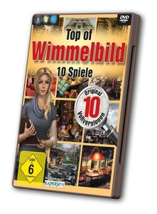 Top of Wimmelbild - 10 Spiele