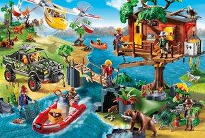 Playmobil (inkl. Figur), Baumhaus, 150 Teile