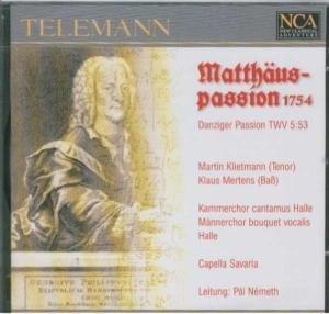 MATTHÄUSPASSION 1754