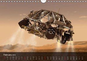 Space and Universe (Wall Calendar 2015 DIN A4 Landscape)