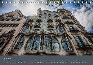 Barcelona - Faszinierende Architektur (Tischkalender 2016 DIN A5
