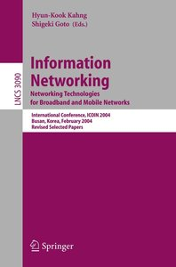 Information Networking. Networking Technologies for Broadband an
