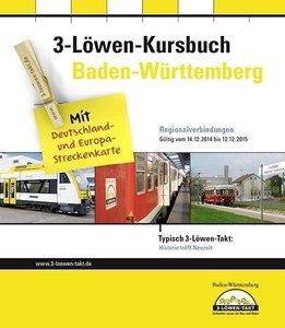Kursbuch Baden-Württemberg 2015