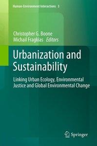 Urbanization and Sustainability