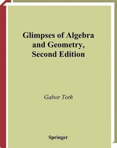 Glimpses of Algebra and Geometry