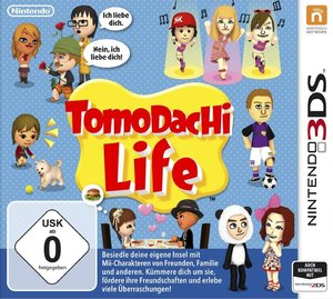 3DS Tomodachi Life. Für Nintendo 3DS