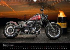 Motorbike Dreams (Wall Calendar 2015 DIN A3 Landscape)