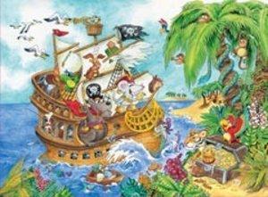 Ravensburger 10628 - Mäuseschlau und Bärenstark, Piraten auf See