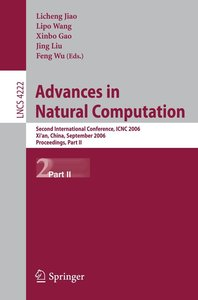 Advances in Natural Computation ICNC 2006 /2
