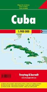 Kuba ( Cuba) 1 : 900 000 Autokarte